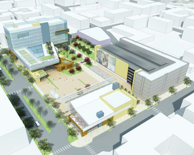 New Civic Center Brightworks Sustainability