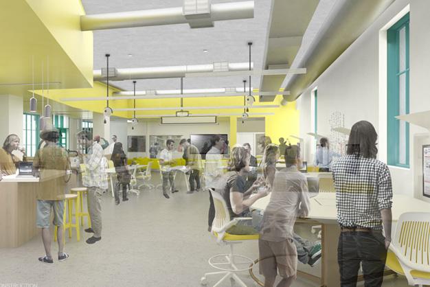 engineering and interdisciplinary sciences building brightworks